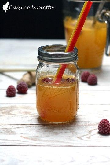 Rezept Maracuja Limonade mit Zitronengras