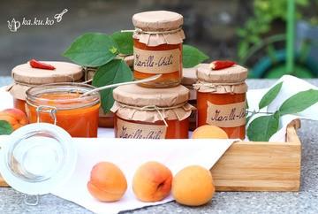 Rezept Marillen-Chili Marmelade