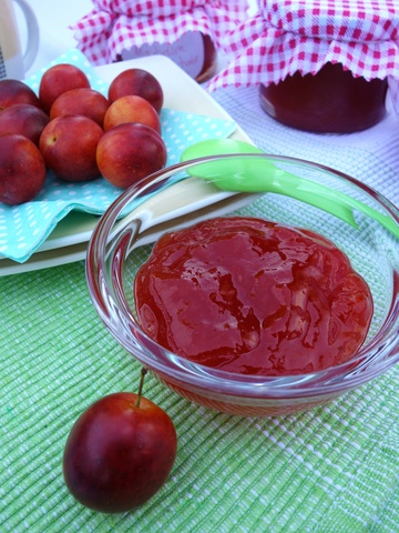 Rezept Marmelade aus roten Mirabellen ohne Haut