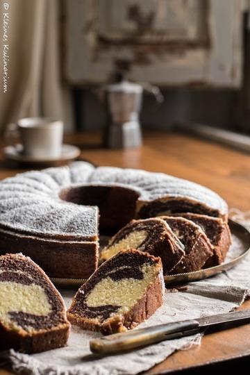 Rezept Marmorkuchen - der saftigste und fluffigste