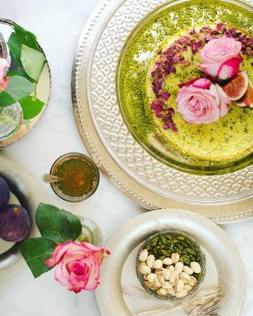 Rezept Marokkanischer Pistazienkuchen