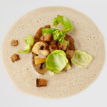 Rezept Maronen-Suppe mit Rosenkohl