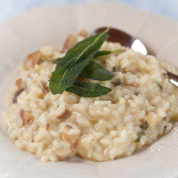 Rezept Maronenrisotto mit Salbei und Blauschimmelkäse
