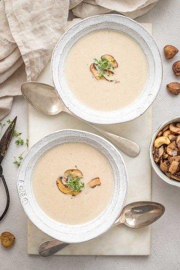 Rezept Maronensuppe – cremig & fein