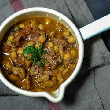 Rezept Maronensuppe mit Kichererbsen