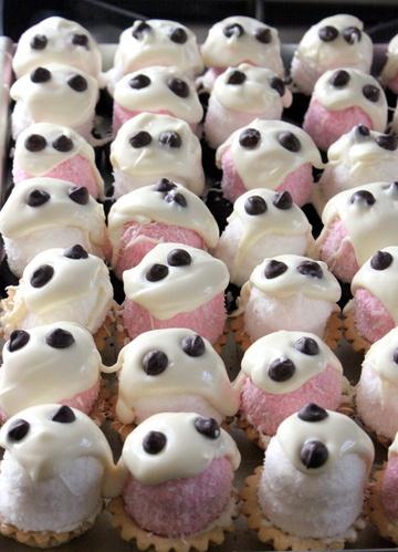 Rezept Marshmallow Geisterchen