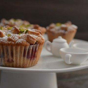 Rezept Marzipan Kirsch Muffins