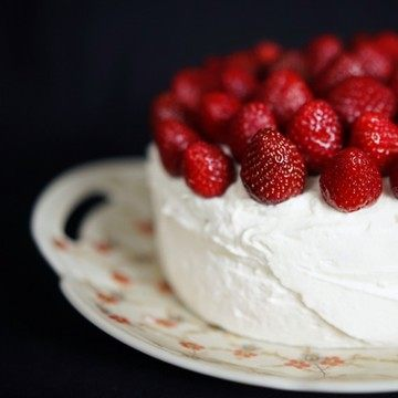 Rezept Mascarpone-Torte mit Erdbeeren