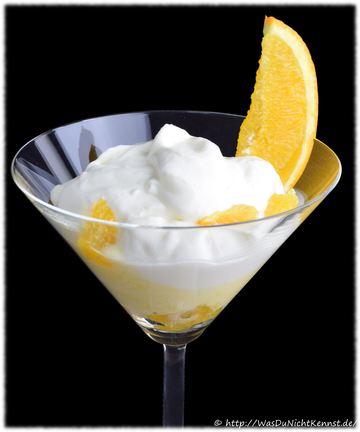 Rezept Mascarponecreme mit Orangen