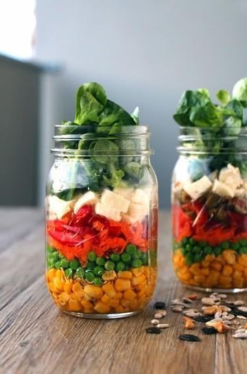 Rezept Mason Jar Salad