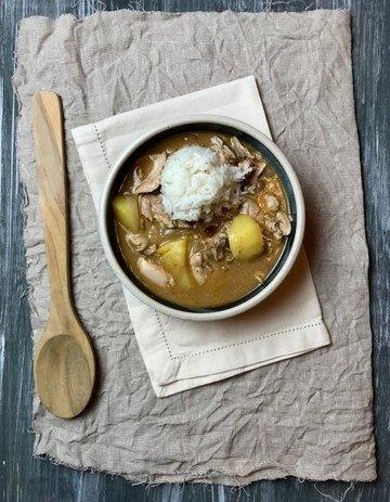Rezept Massaman Curry mit Huhn, Kartoffeln und Erdnüssen