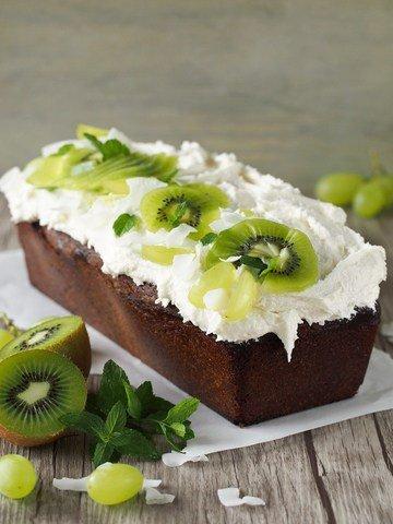 Rezept Matcha-Kuchen mit Kokos-Frosting