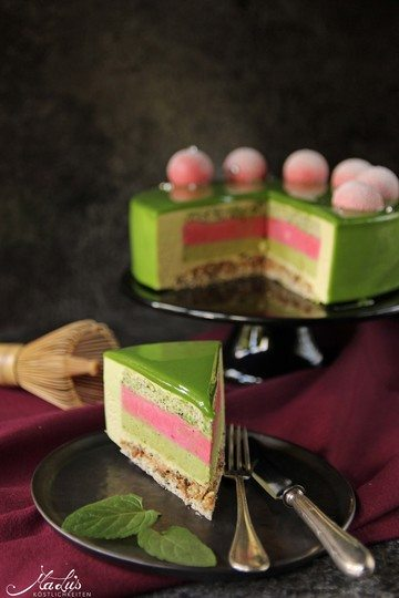 Rezept Matcha-Limetten Torte