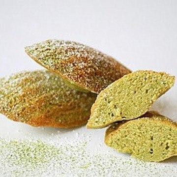 Rezept Matcha Madelaines