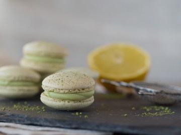 Rezept Matcha-Zitronen-Macarons