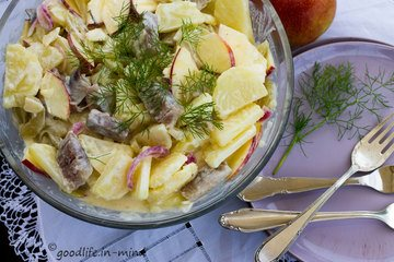 Rezept Matjes-Kartoffelsalat mit Blitzgurken