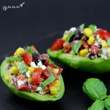 Rezept Mediterran gefüllte Avocado