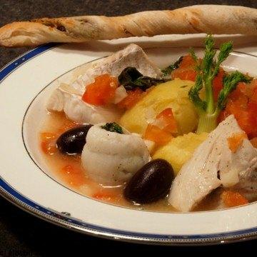 Rezept Mediterrane Fischsuppe