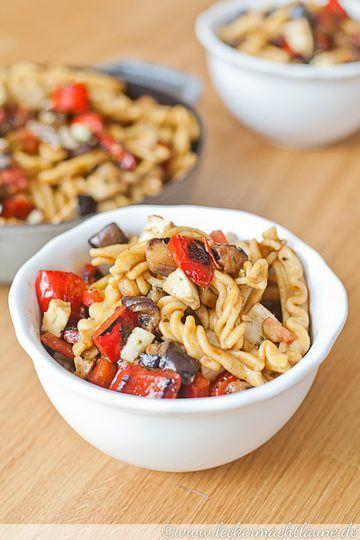Rezept Mediterraner Nudel-Salat