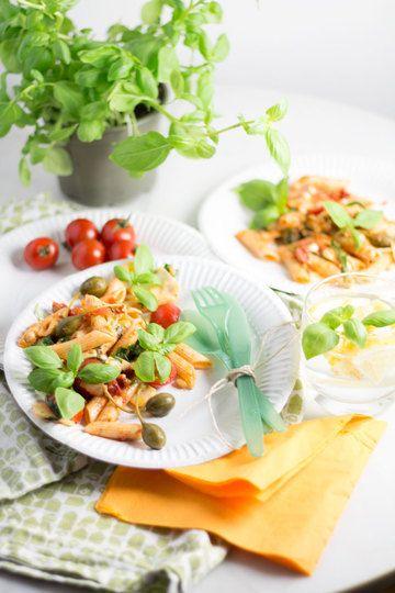 Rezept Mediterraner Nudelsalat