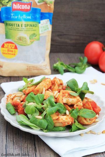 Rezept Mediterraner Tortellini-Salat