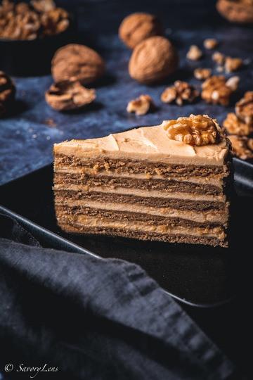 Rezept Medovnik – tschechischer Honigkuchen