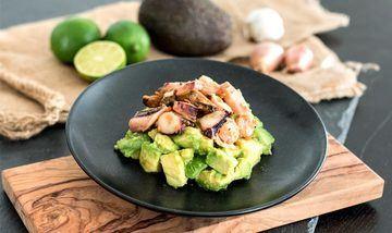 Rezept Meeresfrüchte-Avocado-Salat