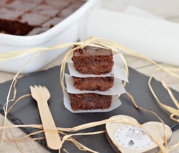 Rezept Mehlfreie Brownies mit Banana Joe