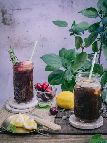 Rezept Mehr als kalter Kaffee: Kaffeelemonad. Schwedische Kaffee Limoade.