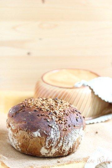 Rezept Mein Bequemes-Lieschen-Dinkel-Vollkornbrot ohne Kneten