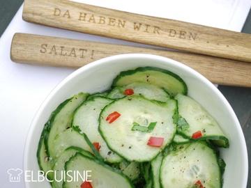 Rezept Mein neuer Liebling: asiatischer Gurken-Salat – erfrischend, lecker, schnell und gesund!