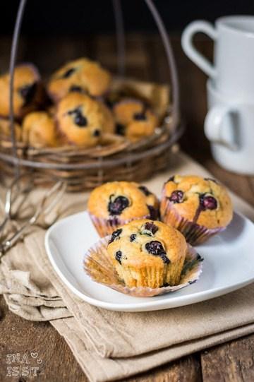 Rezept Meine liebsten Vanille-Blaubeermuffins