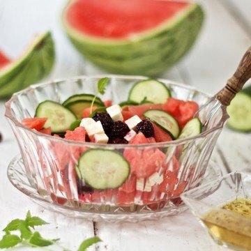 Rezept Melonen-Feta-Salat