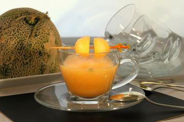 Rezept Melonen Suppe