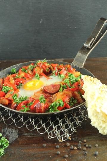 Rezept Menemen - türkisches Bauernfrühstück
