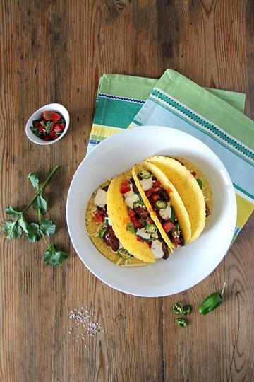 Rezept Mexikanische Veggie-Tacos