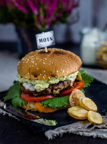Rezept Mexikanischer Burger mit DIY Chips