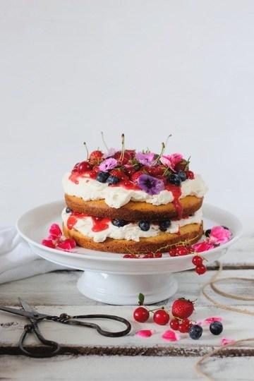 Rezept Midsummer berry cake
