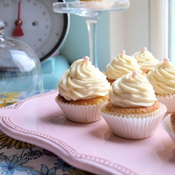Rezept Milky Vanilla Cupcakes