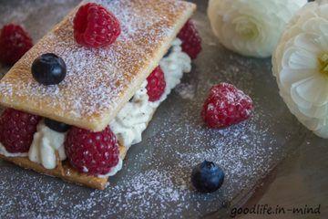 Rezept Mille Feuilles und meine Sehnsucht nach Frankreich