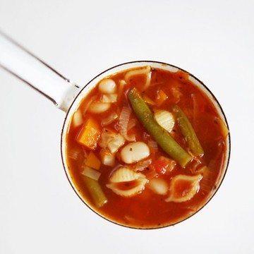Rezept Minestrone mit viel Gemüse
