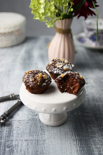 Rezept Mini Brownie Bites