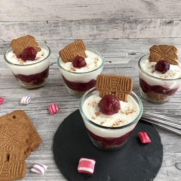 Rezept Mini-Cheesecake im Glas