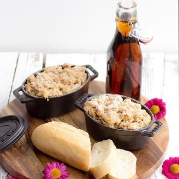 Rezept Mini-French-Toast-Aufläufe mit Streuseln