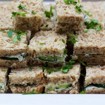 Rezept Mini Gurkensandwiches