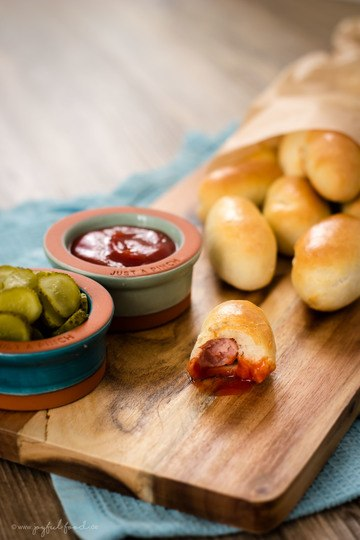 Rezept Mini Hot Dogs