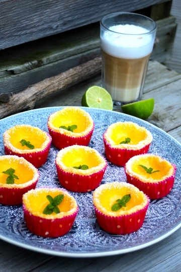 Rezept Mini-Limetten-Cheesecakes