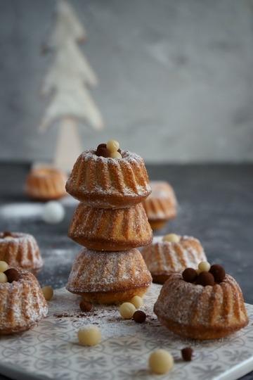 Rezept Mini Marzipan Gugelhupf – einfach & schnell