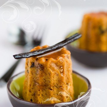Rezept Mini Möhrenkuchen mit Glasur