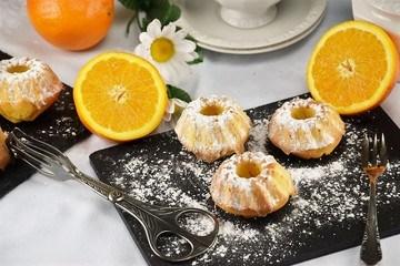 Rezept Mini Orangen Gugelhupf